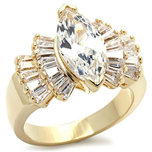 Brilliant 3.0ct Marquise Cubic Zircon CZ AAA Engagement Ring 5 6 7 8 9 10 9x016
