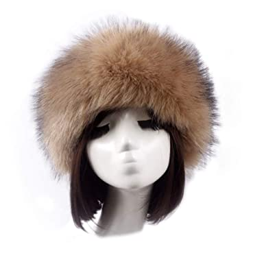 1abc5457 Loveble Winter Warm Women's Faux Fur Cap With Stretch Russian Cossack Hat:  Amazon.co.uk: Clothing