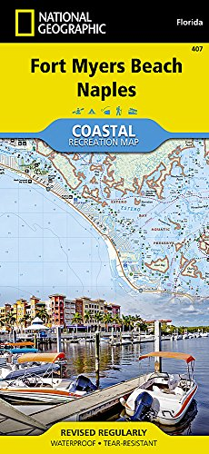 Fort Myers Beach, Naples (National Geographic Trails Illustrated Map (407))