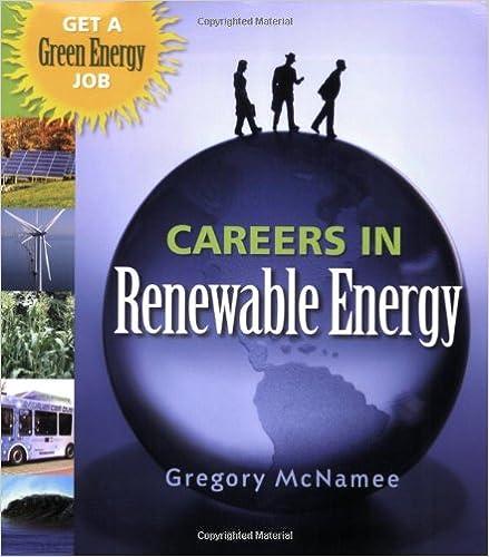 Amazon com: Careers in Renewable Energy: Get a Green Energy Job
