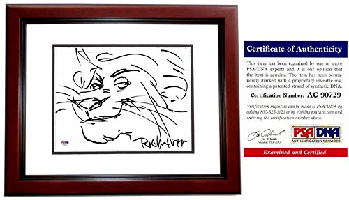 Rob Minkoff Signed - Autographed Lion King ORIGINAL ART 8x10 inch ...