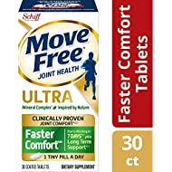 Move Free Calcium & Calcium Fructoborate Based Ultra Faster Comfort Tablets (30count In A Bottle), 30count (pack Of 12)