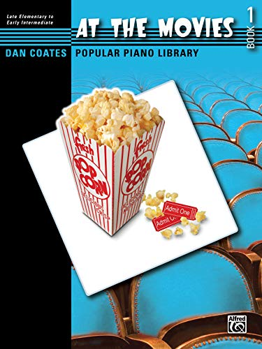 Dan Coates Popular Piano Library -- At the Movies, Bk 1 (In Dreams Lord Of The Rings Piano)