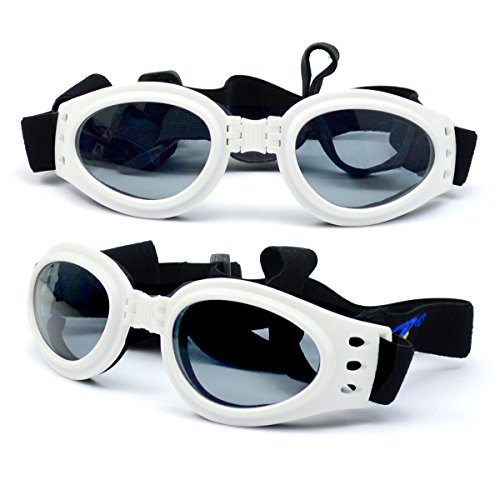 2017 New Foldable Pet Dress Up Sunglasses Pet Glasses Dog Cool Cool Sunglasses Sunglasses Windproof Shield Goggles BP-2004 - Sunglasses 2004