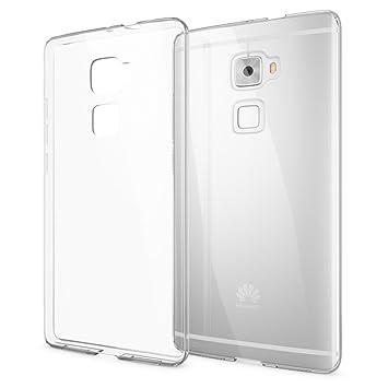 NALIA Funda Carcasa Compatible con Huawei Mate S, Protectora Movil TPU Silicona Ultra-Fina Gel Transparente Telefono Cubierta, Goma Bumper Smart-Phone ...