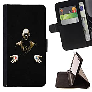 For HTC Desire 626 & 626s xxxx Style PU Leather Case Wallet Flip Stand Flap Closure Cover