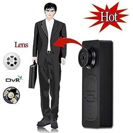 BYD - Mini botón de la Cámara oculta espía Cámara DV S918 Botón de Cámara espía