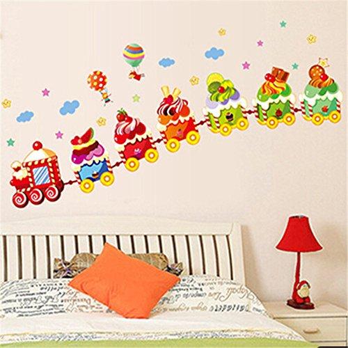 Boys /& Girls Dormitorio beb/é CART El Animal de la selva Zoo Animales Pegatinas de pared Mono Jirafa Elefante Le/ón Conejo Panda vinilos decorativos para Decorar Las habitaciones de los ni/ños cuarto de ni/ños