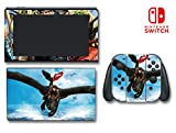 How to Train Your Dragon 2 Hiccup Astrid Video Game Vinyl Decal Skin Sticker Cover for Nintendo Switch Console System