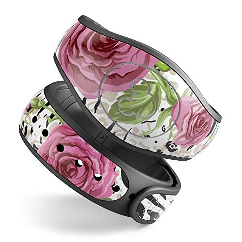 Design Skinz Animal Vibe Floral Premium Vinyl Decal Wrap Cover for The Disney MagicBand 2 (Fits Magic Band 2.0 for Disney ()