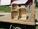 Used Sawmill Best Deals - Handmade By an Old Order Amish Country Crafter in His Small Workshop Located in Central Ohio. His Children Help Him Cut the Slats Used to Create These Rustic Sets. The Crate Wood Is Made From Poplar Trees That Are Cut Into Rough Sawn Boards At a Local Own