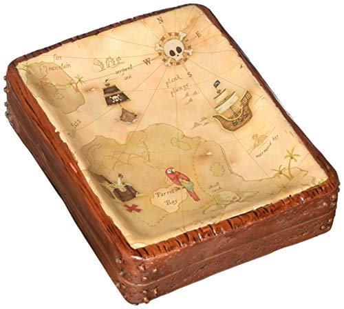 Borders Unlimited Map Soap Dish Pirate's Treasure
