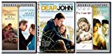 Nicholas Sparks 5-Movie Pack: Message in a Bottle/ Nights in Rodanthe/ Dear John/ P.S. I Love you/ The Lake House