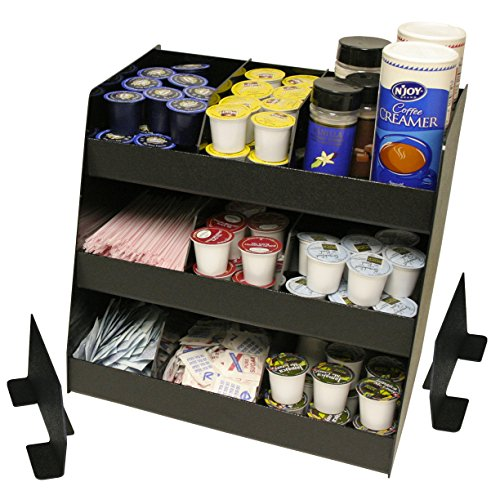 Coffee Condiment Organizer 11 Compartments, Now Comes with 8 Extra Tall Movable Dividers.
