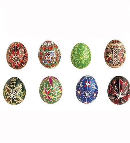 Set of 8 Colors Ukrainian Egg Dye Refills
