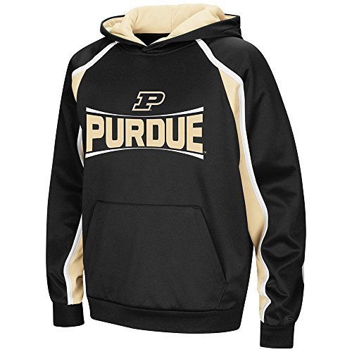 (Colosseum Youth Purdue Boilermakers Pull-Over Hoodie - L)