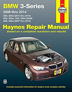 bmw 3 series e90 e91 e92 e93 service manual 2006 2007 2008 rh amazon com bmw 325i instruction manual bmw 325i owners manual 2001