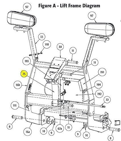 Amazon Com Snowdogg Part 16154200 Cylinder Lift 2x6 Hdexvxcm