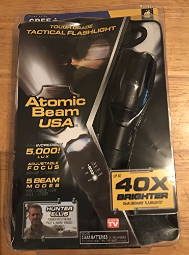 Atomic Tough Tactical Flashlight Single