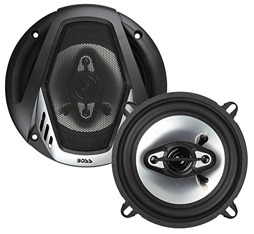 Poly Injection Cone Speaker - BOSS Audio NX524 300 Watt (Per Pair), 5.25 Inch, Full Range, 4 Way Car Speakers (Sold in Pairs)