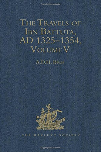 The Travels of Ibn Battuta. A.D. 1325-1354. Index. Volume V.  (Hakluyt Society, Second Series, 190)