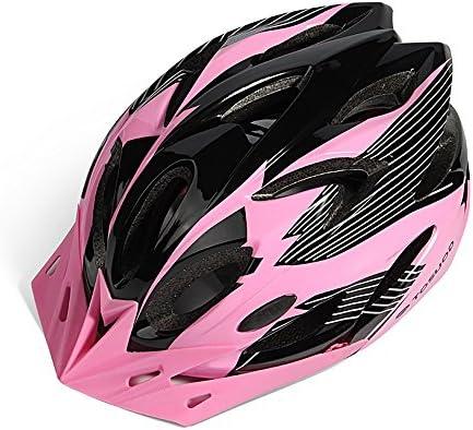 Ultra peso ligero - casco adulto de la bicicleta Casco de la bici de montaña casco de la bicicleta para todos los ciclos unisex (Color : Black powder) : Amazon.es: Deportes