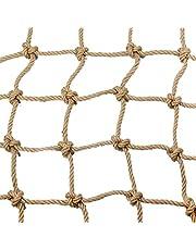 SunYaZhou Nets Hampa rep dekoration nät trappskydd nät balkong anti-fall nät barn säkerhetsnät retro bar tak nät hängande kläder nät klättring nät rep barn säkerhet räcke (storlek: 1 x 5 m)