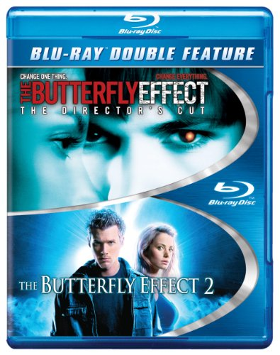Blu-ray : The Butterfly Effect / The Butterfly Effect 2 (2 Pack, 2 Disc)
