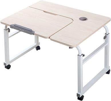 Mesa de sobrecama sobre ruedas sobre la mesa, mesa, ordenador ...