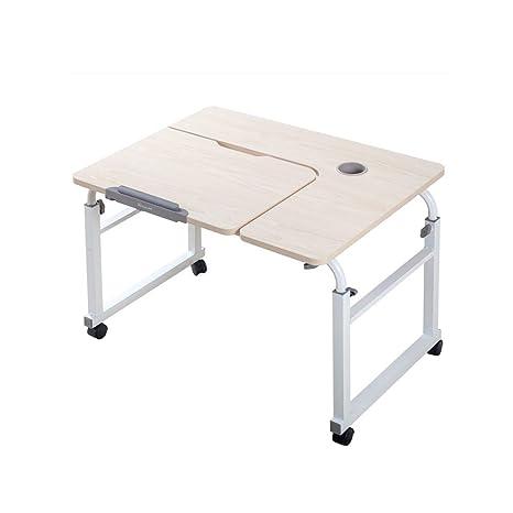 Amazon.com: Mesa sobre ruedas sobre la cama, portátil ...