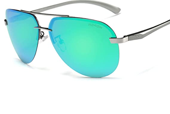 Amazon.com: Gafas de sol clásicas polarizadas con diseño de ...