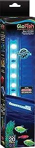 GloFish Blue LED Aquarium Light 12 Inches, Fits Framed Aquariums Up To 20 Gallons