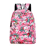 Animal Pattern Bag Flamingo Print Rucksack