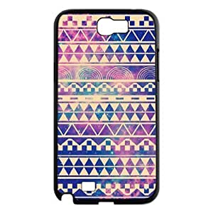 Aztec Tribal Pattern Use Your Own Image Phone Case for Samsung Galaxy Note 2 N7100,customized case cover ygtg536797