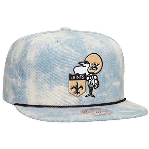 94d38274a3281 New Orleans Saints Acid Wash Denim Hat. Stylish design. Quality embroidery. Snap  back