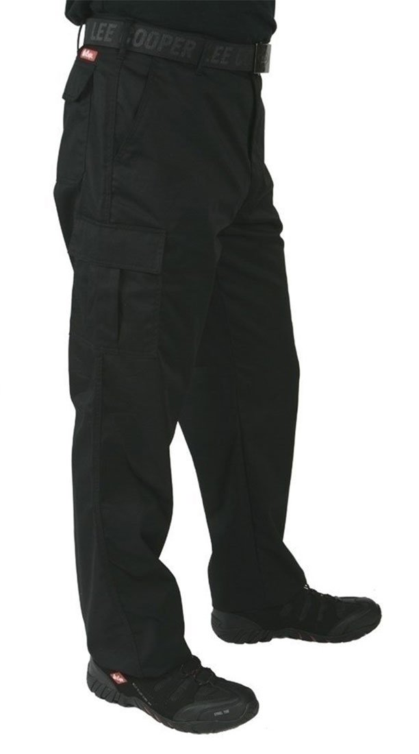 Lee Cooper - Pantaloni Nero nero