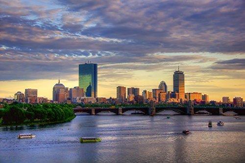 boston-skyline-sunset-over-back-bay-boston-skyline-print-boston-art-print-boston-canvas-print