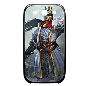 Tryndamere-005 League of Legends LoL For Case Samsung Galaxy S4 I9500 Cover Plastic Black
