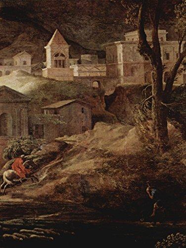 Lais Jigsaw Nicolas Poussin - Landscape with Pyramos and Thisbe, Detail 2000 - Nicolas Landscape Poussin