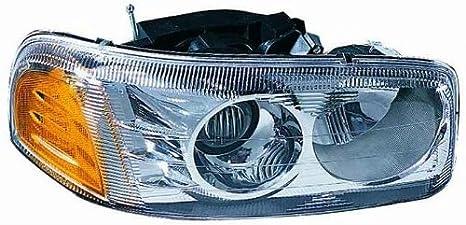 Depo 335-1114R-AC GMC Yukon Denali//Sierra Denali Passenger Side Replacement Headlight Assembly