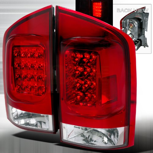 Instyleparts 2004-2006 Nissan Armada Led Tail Lights Red