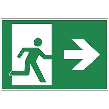 Panneau sortie de secours - Exit Plaque de mousse rigide en ...