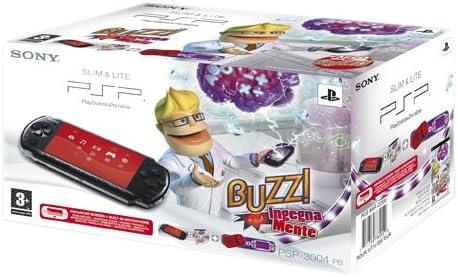 PSP Base Pack 3004 + Buzz Ingegnam.+Cust [Importación italiana]: Amazon.es: Videojuegos
