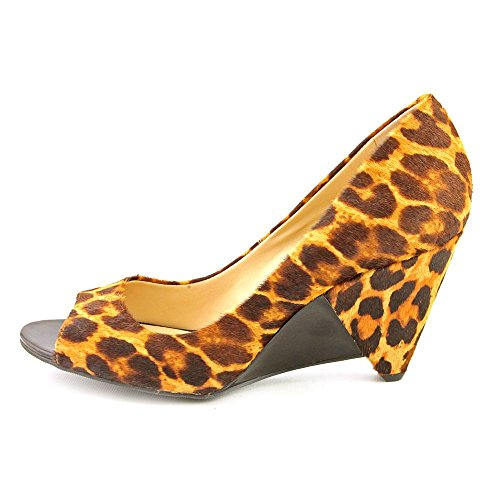 Heels Fifi Brown Womens Size Concepts Hair 8 Fur International INC Shoes Wedges 4qxEvv