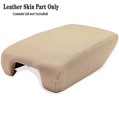 DSparts Fits 1999-2005 Lexus GS300/GS400/GS430 Synthetic Beige Leather Center Console Armrest Cover Beige Skin Only: Automotive