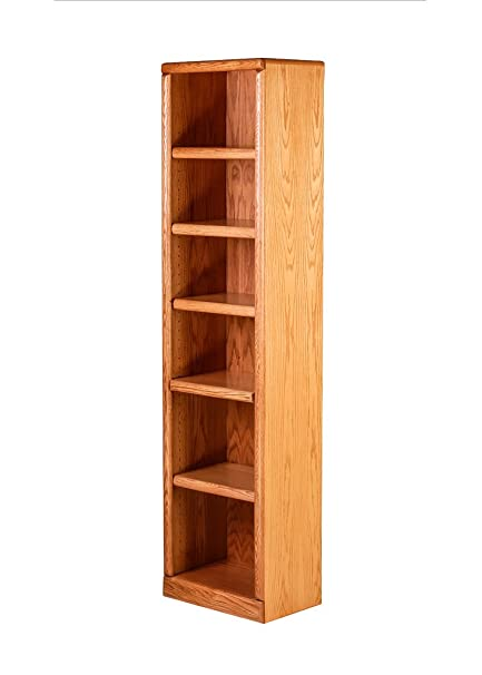 Amazon Com Forest Designs Bullnose Bookcase 18w X 48h X