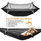 Patent Camping Hammock with Mosquito Net and