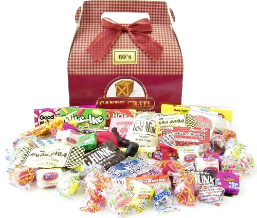 Candy Crate 1960's Retro Candy Gift Box for $<!--$49.99-->