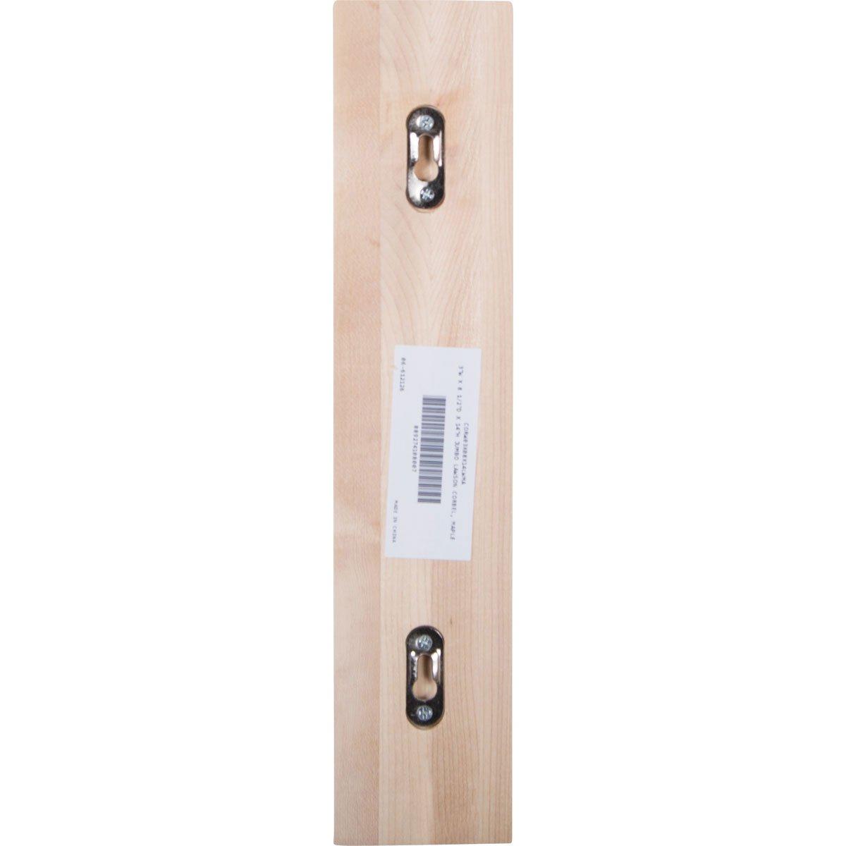 3 W x 3 x Ready to be Stained 4 Piece Rubberwood Ekena Millwork CORW03X03X06LWRW-CASE-4 3W x 3 1//2D x 6H Small Lawson Wood Corbel 4-Pack