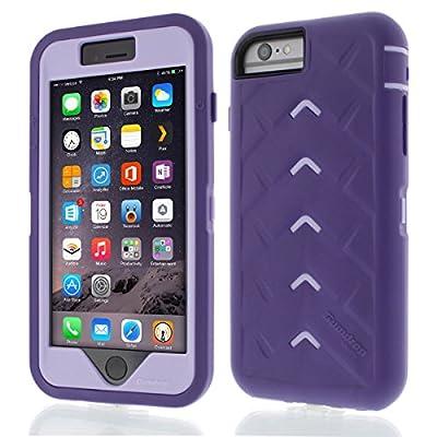 iPhone 6 - Drop Tech V2 - Ruggedized Case - Black-Orange from Gumdrop Cases